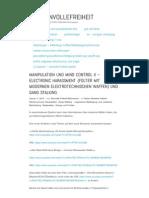 Strahlenfolter Stalking - TI - Prosinnvollefreiheit - Manipulation Und Mind Control II - Electronic Harassment Und Gang Stalking