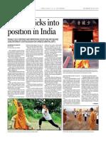 Kungfu kicks into position in India - Gajanand Rajput