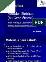 Aula 1 Geof%EDsica M%E9todos El%E9tricos