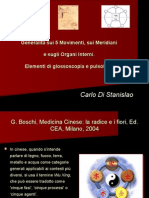 5 Movimenti Meridiani e Organi Interni