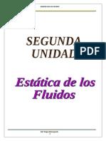 Estática de los fluidos