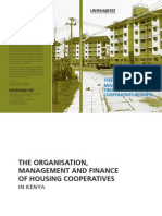 The Financing, Organisation and Management of Housing Cooperatives in Kenya