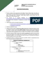 Guía de investigación grupal No. 1