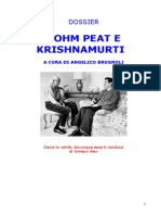 Dossier Bohm Peat Krishnamurti