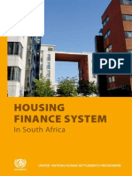 Housing Finance System in South Africa