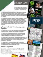 Informacion Tarifas y Ventajas Revista Guia Gay