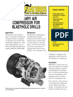 Xs-1919 Auxiliary Air Compressor for Drills