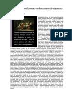 Filosofia - Socrates e Platao