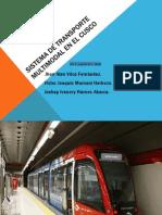 Sistema de Transporte Multimodal en El Cusco 2012-II