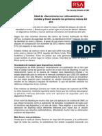 Reporte RSA - Enero y Febrero 2014