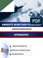 Exposicion 3 Ambiente Monetario