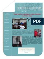 April 2014 FWISD After School Newsletter