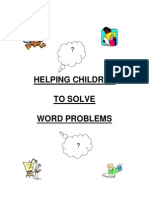 helping kids solve word problems