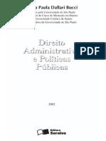 Bucci.politicas Publicas e Direito Administrativo