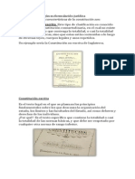 Caracteristicas de La Costitucion