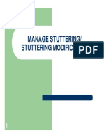 Manage Stuttering