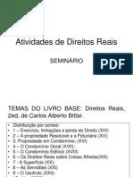 SEMINÁRIO REAIS
