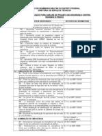 List a Verifica Proje to s Incendio