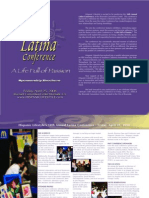 10th Annual Latina Conference 2008 Sponsorship Brochure