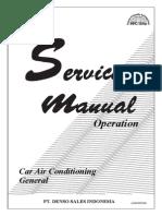 GENERAL IMV Car Air Conditioner (Operation) JK00500058N