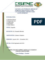 Informe de Quimica Organica 1.1