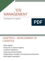 Development of Logistics