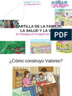 cartilla valores