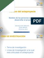 Guia Para Sustentacion Del Anteproyecto de Investigacion (1)
