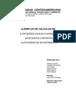 Ejemplos de Calculos Axiales