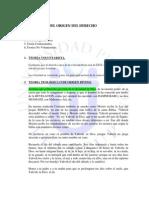 1 TAREA RESUELTA - TEORÍAS SOBRE EL ORIGEN DEL DERECHO - TELESUP.docx