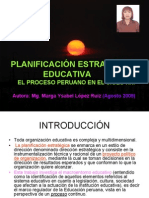 GESTIÓN EDUCATIVA EN EL PERU (2000-2009)