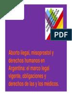 Aborto Ilegal Misoprostol y Derechos Humanos LyF