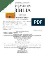 COMENTÁRIO BÍBLICO ATRAVÉS DA BÍBLIA GÊNESIS - Itamir Neves de Souza