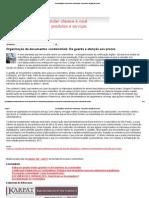 Organização de documentos condominiais_ Da guarda e atenção aos prazos