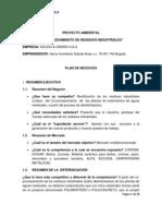 PROYECTO AMBIENTAL - SOLIDO & DISEÑO S.A.S