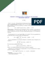 Version Compleja de La Integral de Fourier