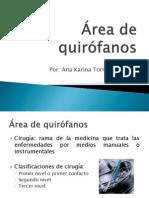 Área de quirófanos