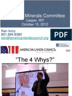 Wyoming Minerals Committee