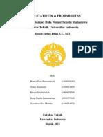 TUGAS Kelompok 1 STATISTIK & PROBABILITAS