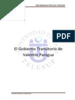 El Gobierno Transitorio de Paniagua