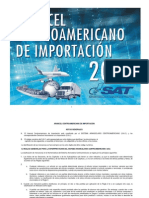 ARANCEL CENTROAMERICANO DE IMPORTACIËN 2013