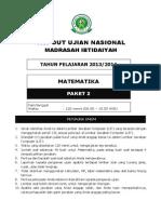 Matematika Paket 2