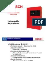 Panel IncendioFPD7024