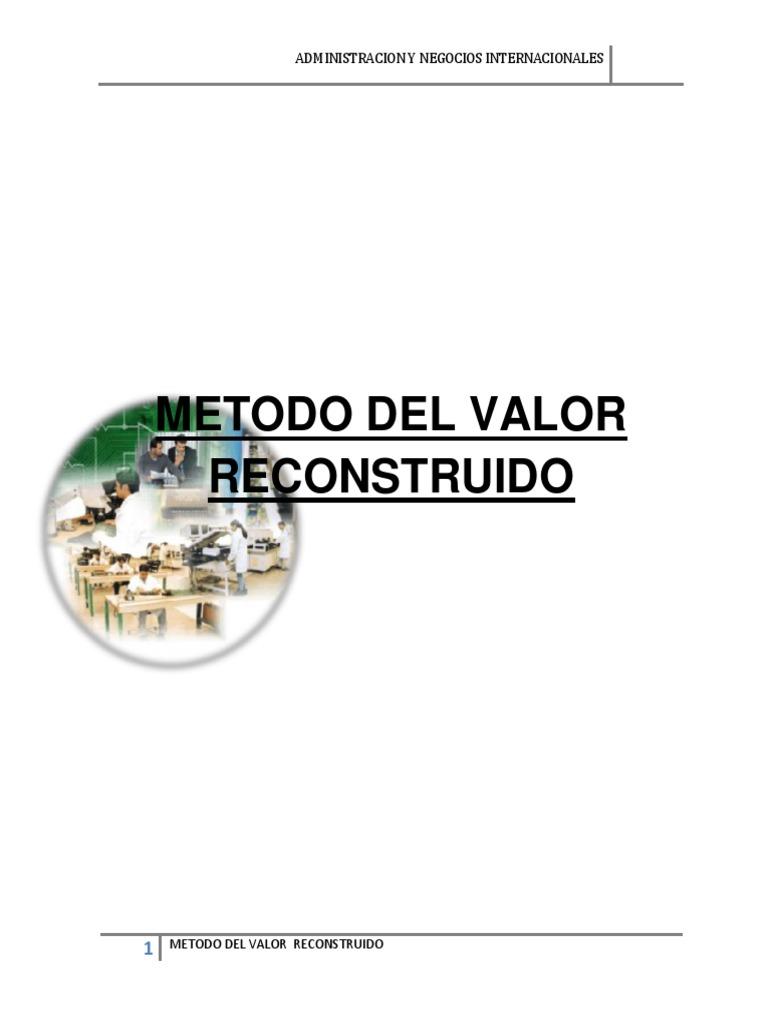 Valor Reconstruido
