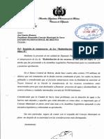 Cartas Concejo Municipal Ley Hipc