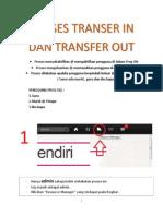 Proses Transer in Dan Transfer Out