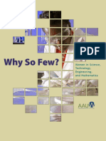 Aauw - Why So Few Women in Stem?