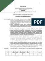 Draft Ruu Ruu Tentang Pencegahan Dan Pemberantasan Pembalakan Liar p3l