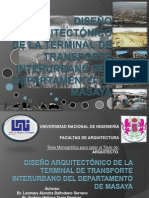 diseoarquitectnicodelaterminaldetransporteinterurbanofinal-100317155426-phpapp01