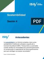 Sesión 4 - Sostenibilidad